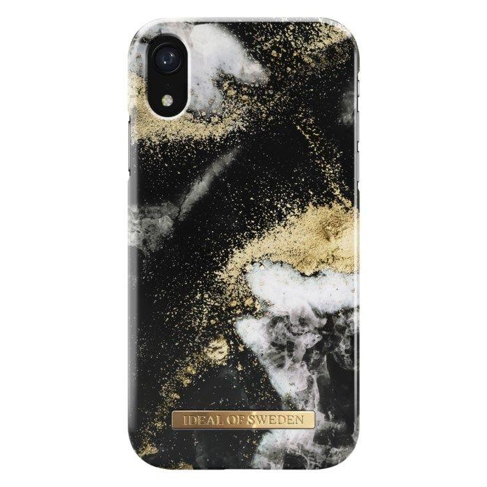 IDEAL OF SWEDEN Black Galaxy Mobilskal för iPhone XR