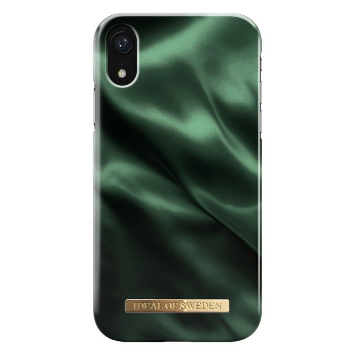 Ideal of Sweden Emerald Satin Mobilskal för iPhone XR