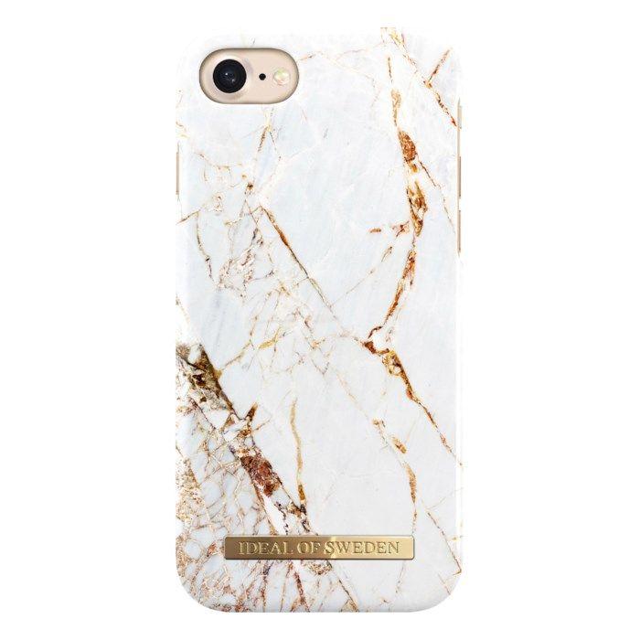 IDEAL OF SWEDEN Carrara Gold Mobilskal för iPhone 6/7/8/SE