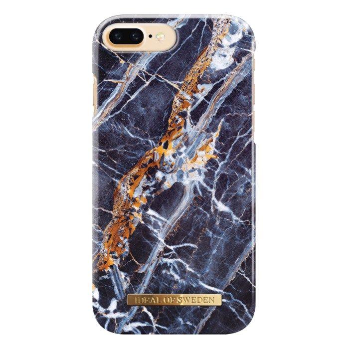 Ideal of Sweden Midnight Blue Marble Mobilskal för iPhone 6, 7 och 8 Plus-serien