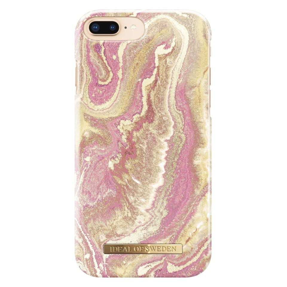 Ideal of Sweden Golden Blush Marble Mobilskal för iPhone 6, 7 och 8 Plus-serien