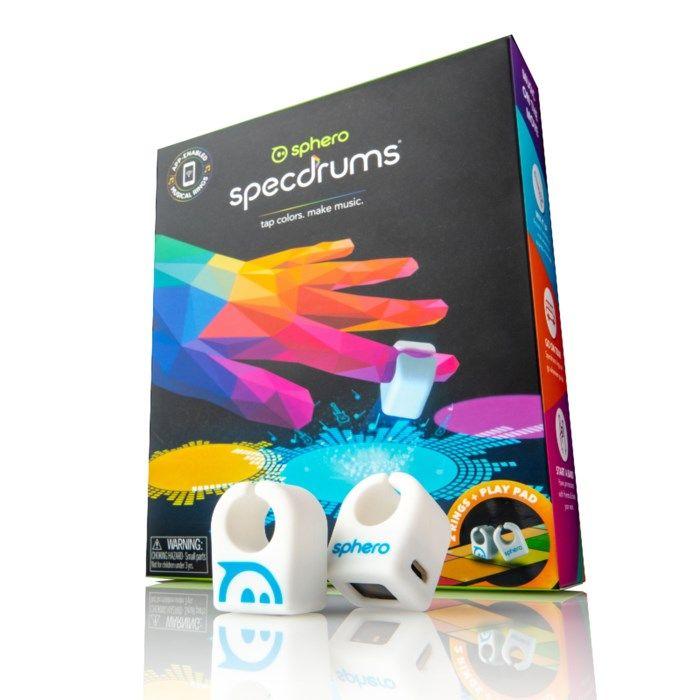 Sphero Specdrums Appstyrt instrument för fingret 2 ringar