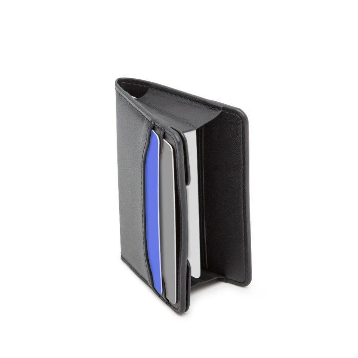 Rubicson Slim Korthållare med RFID-skydd i PU-läder