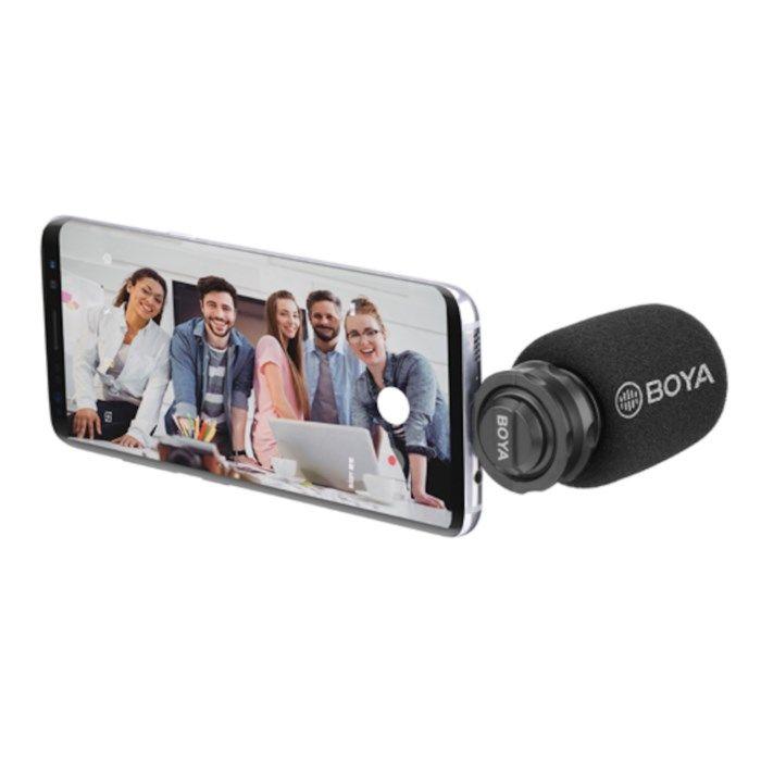 Boya BY-DM100 Videomikrofon för mobiler med USB-C
