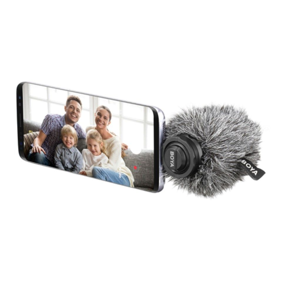 Boya BY-DM100 Videomikrofon for mobiler med USB-C