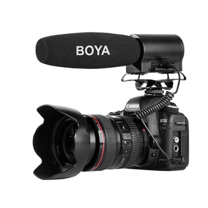 Boya BY-DMR7 Videomikrofon och ljudinspelare