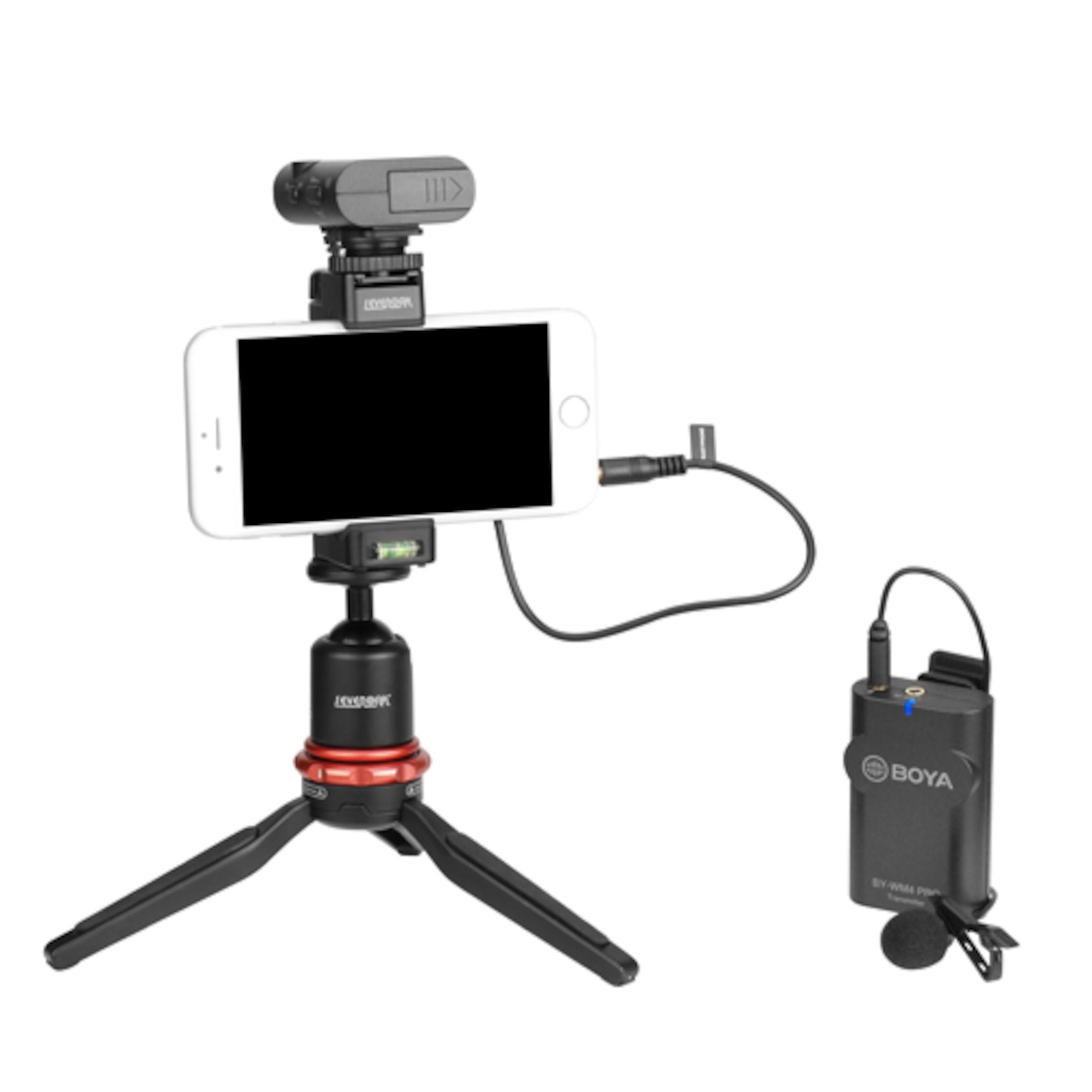BY WM4 PRO Boya trådløs myggmikrofon til kamera Kjøp