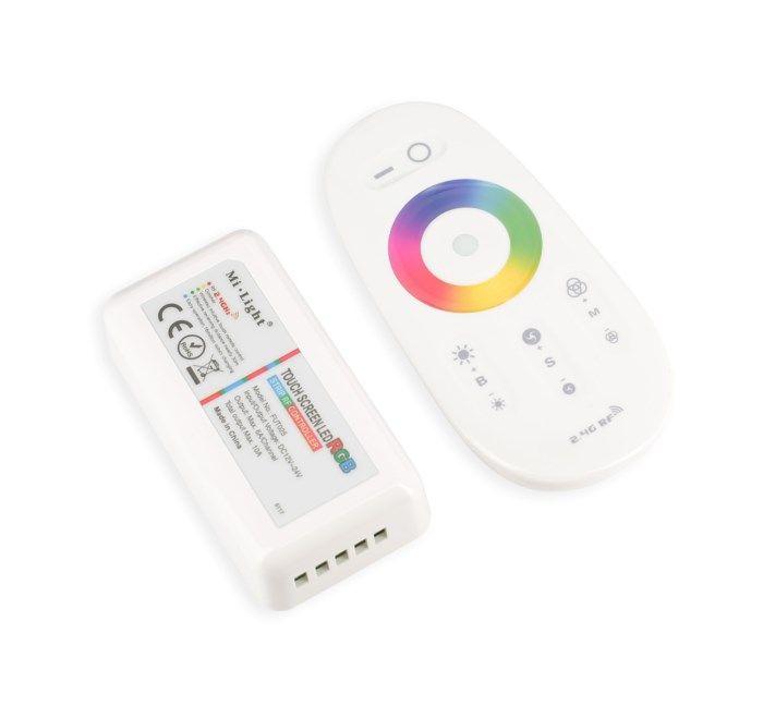 Nextec RGBW LED-kontroller med fjärrkontroll