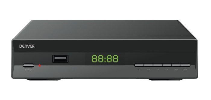 Denver DTB-134 Digital-TV-mottagare med HDTV-stöd