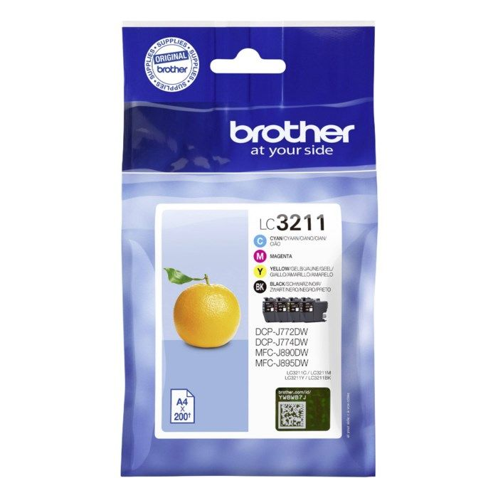 Brother LC3211 Bläckpatron 4-pack