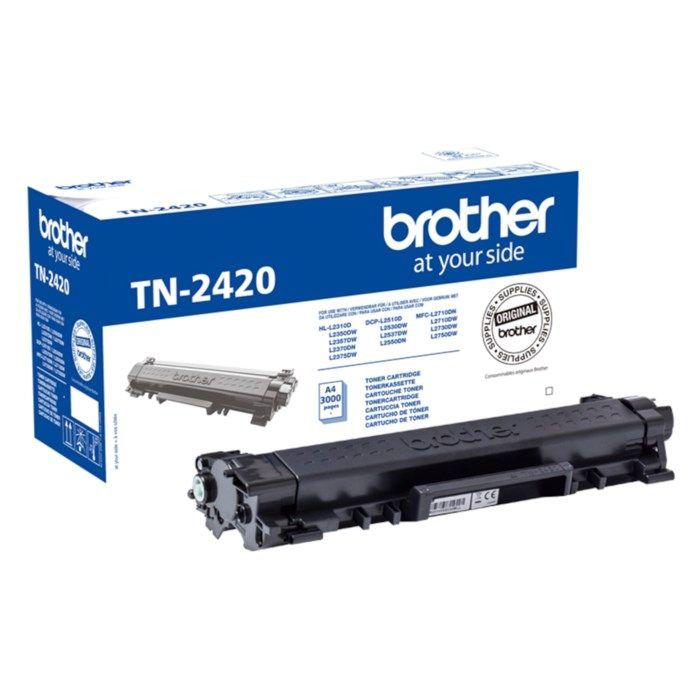 Brother Toner TN-2420 Svart