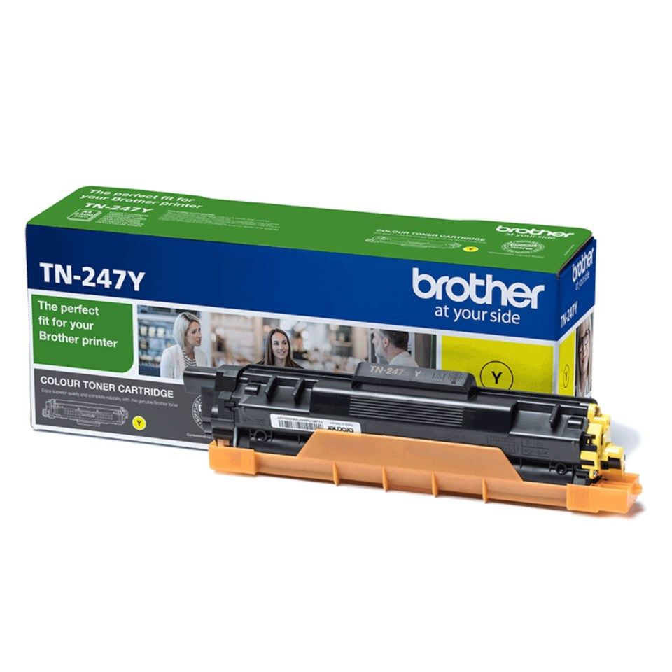 Brother Toner TN-247 Gul