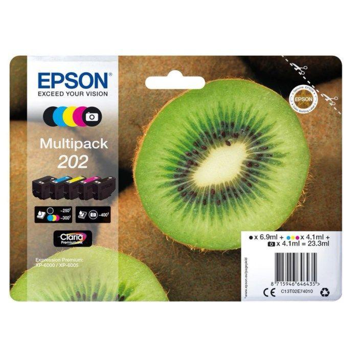 Epson T02E7 Bläckpatroner 5-pack
