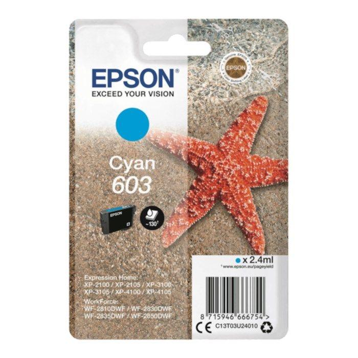 Epson T03U2 Bläckpatron Cyan