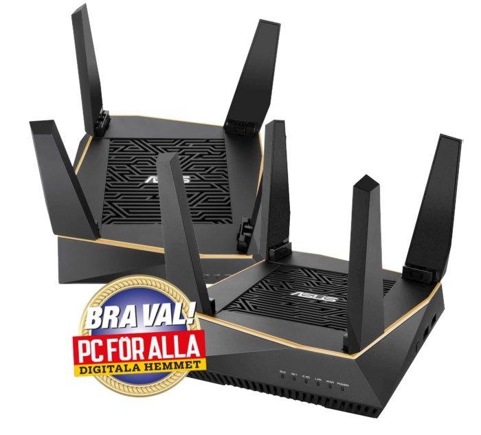 Asus RT-AX92U Trådlös router AX6000 2-pack