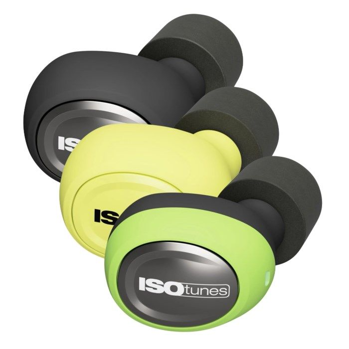 Isotunes Free Hörselskydd med Bluetooth Grön