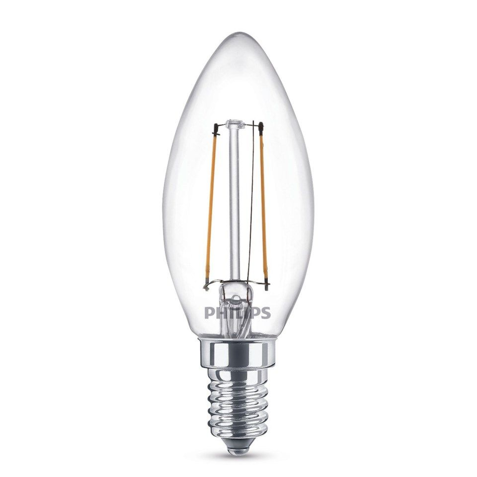 Philips LED-lampa Kron LED E14 250 lm 3-pack