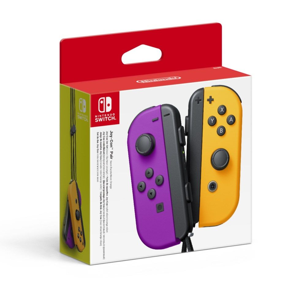 Nintendo Joy-Con Pair Handkontroller Lila/orange