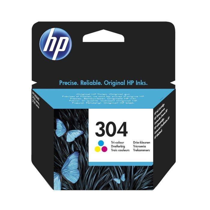 HP 304 Bläckpatron Flera färger