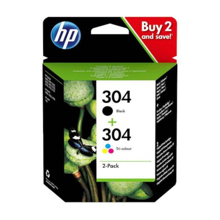 HP 304 Bläckpatroner 2-pack