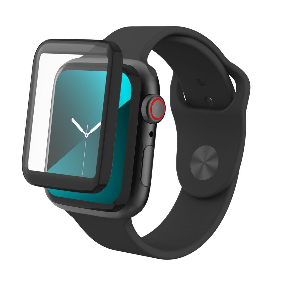 Invisible Shield Glass Fusion for Apple Watch 4/5/6 og SE, 44 mm