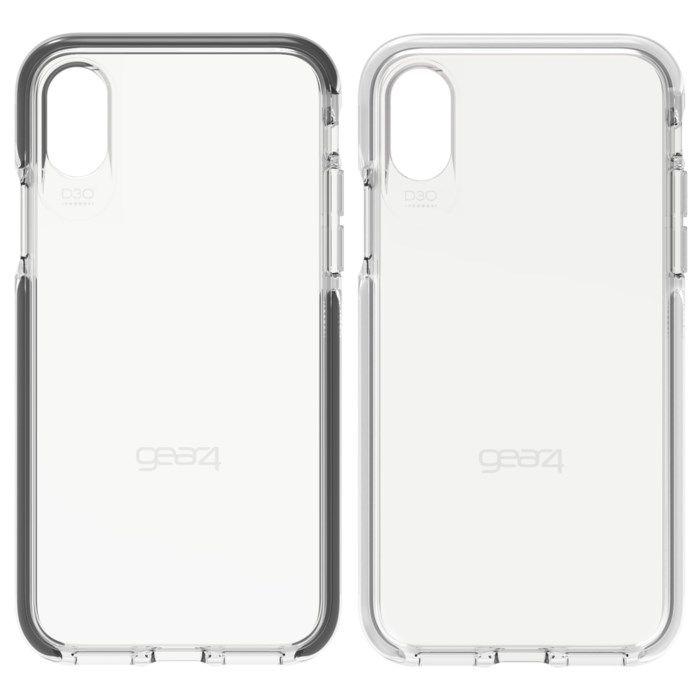 Gear4 Piccadilly Tåligt mobilskal för iPhone X och Xs Svart