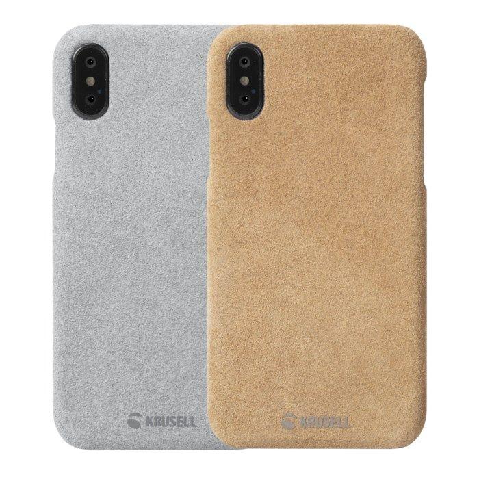 Krusell Broby Mobilskal för iPhone X och Xs Grå