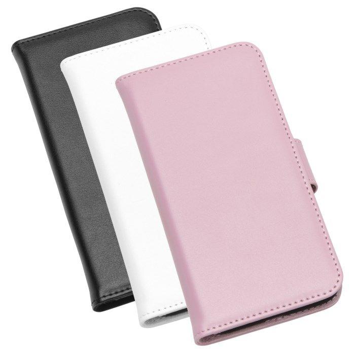 Linocell Mobilplånbok för iPhone 7 8 och SE Rosa