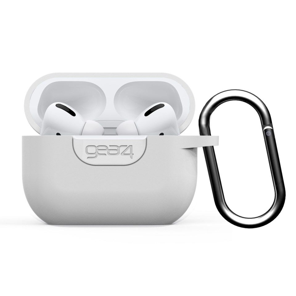 Gear4 Silikonetui for Airpods Pro Hvit