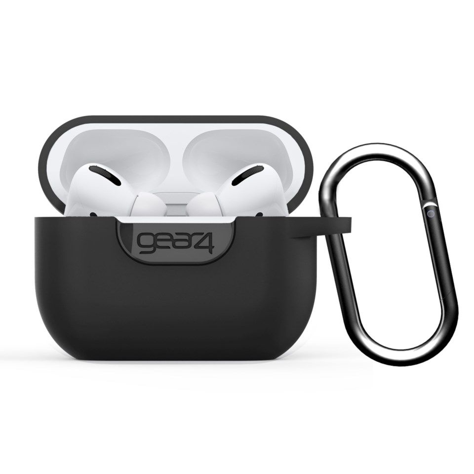 Gear4 Silikonetui for Airpods Pro Svart