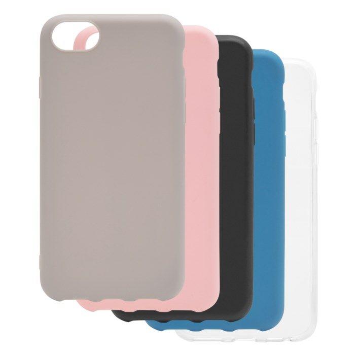 Linocell Second skin 2.0 Mobilskal för iPhone 6 7 8 och SE Blå