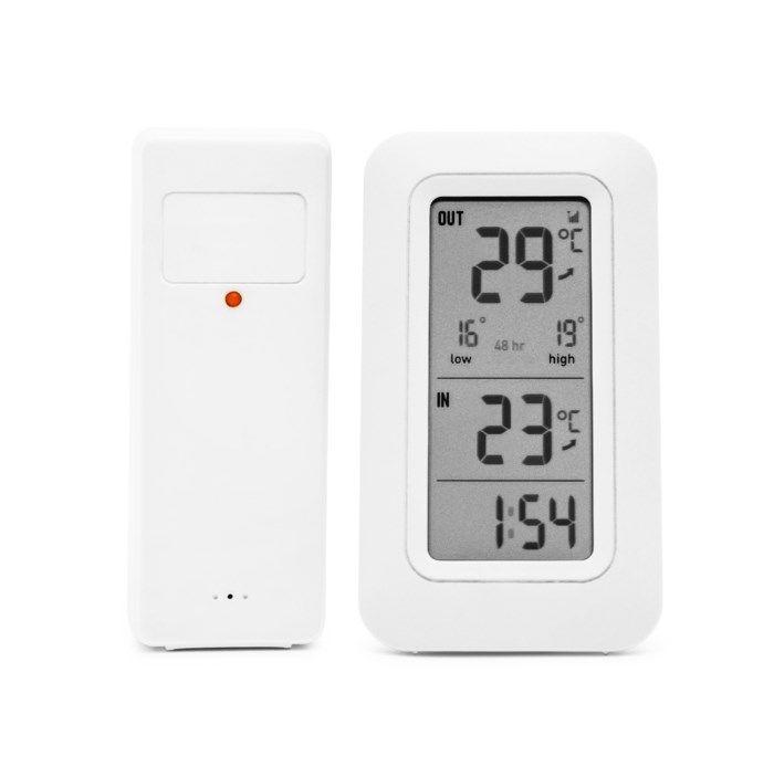 Rubicson Trådlös termometer för inne- och utetemperatur