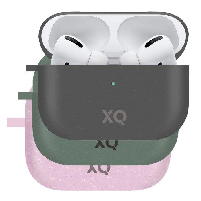 Xqisit Komposterbart fodral för Airpods Pro Rosa