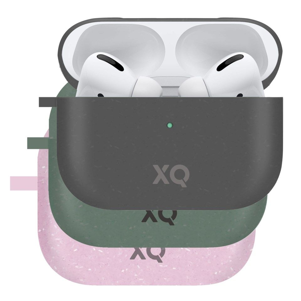 Xqisit Komposterbart etui for Airpods Pro Rosa