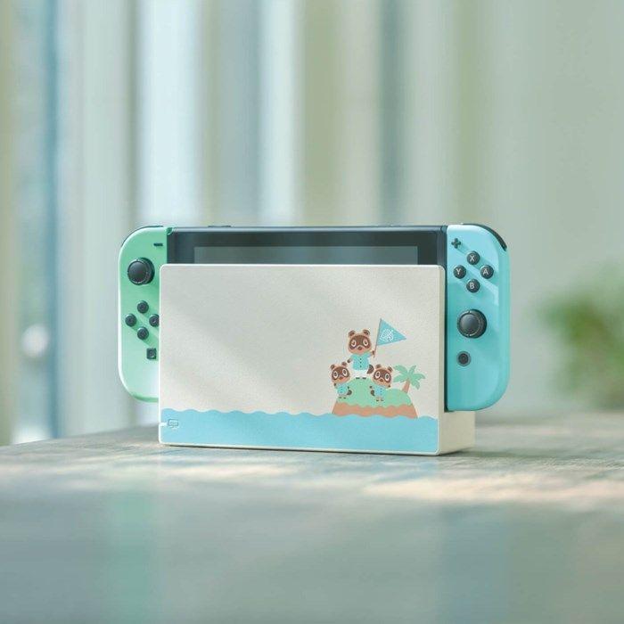 "Nintendo Switch (2019) Spelkonsol 6,2"" Animal Crossing Edition"