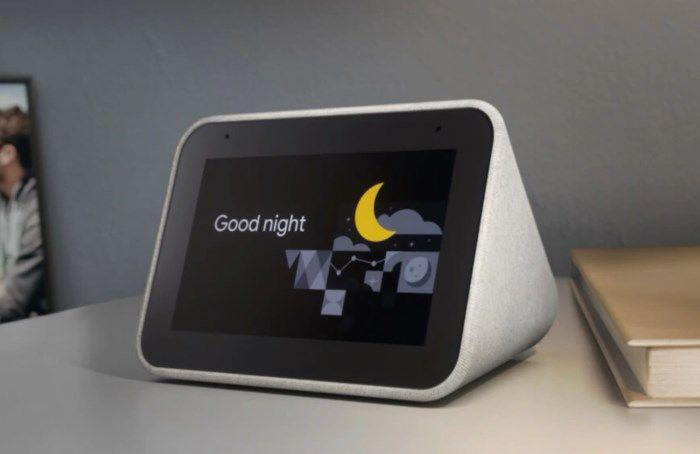 Lenovo Smart Clock Väckarklocka med Google Assistant