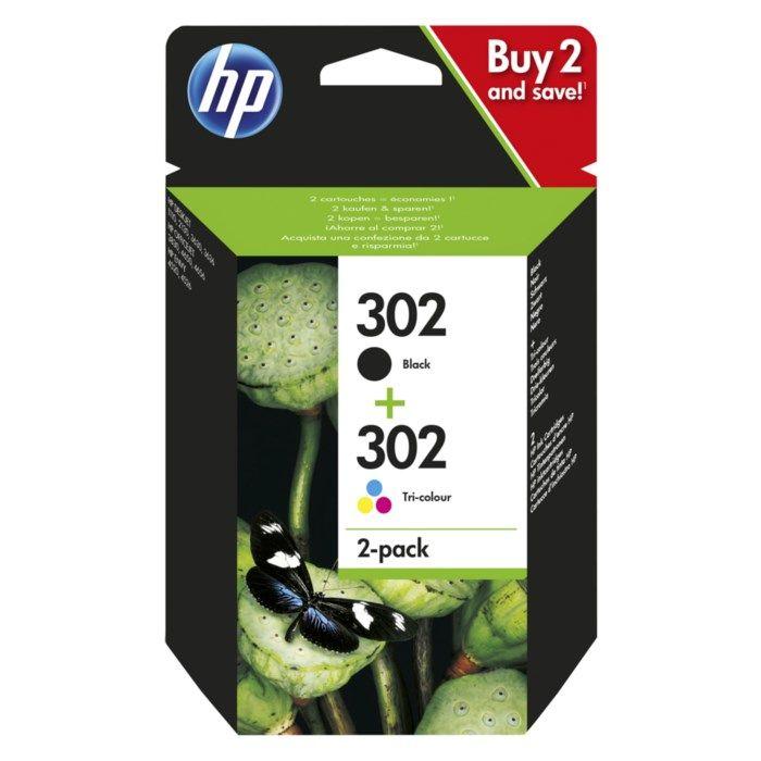 HP 302 Bläckpatroner 2-pack