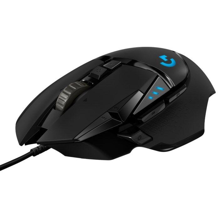 Logitech G 502 Hero Gaming-mus för proffs