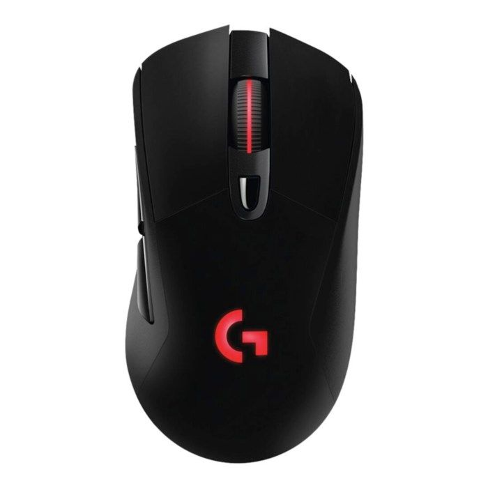 Logitech G 703 Lightspeed Hero Trådlös gaming-mus för proffs