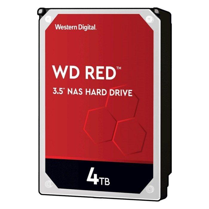 """WD Red Intern hårddisk 3,5"""" 4 TB"""