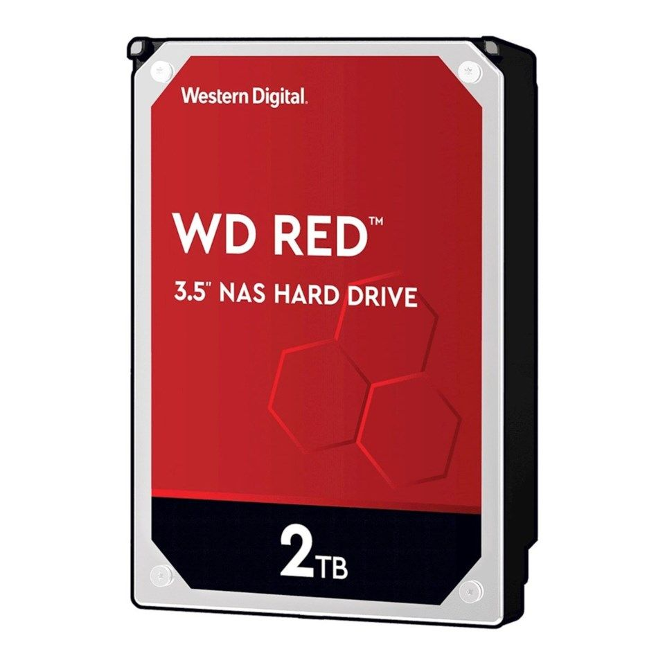 "WD Red Intern harddisk 3,5"" 2 TB"