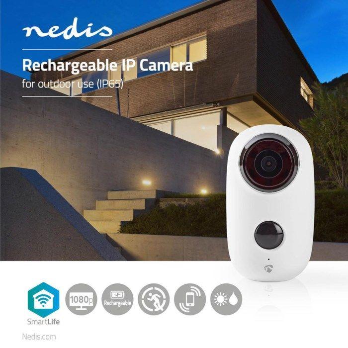 Nedis Smartlife Trådlös övervakningskamera för utomhusbruk