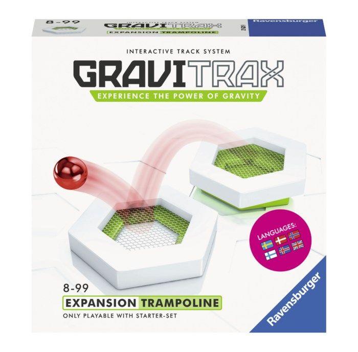 GraviTrax Trampoline modul till kulbanesystem