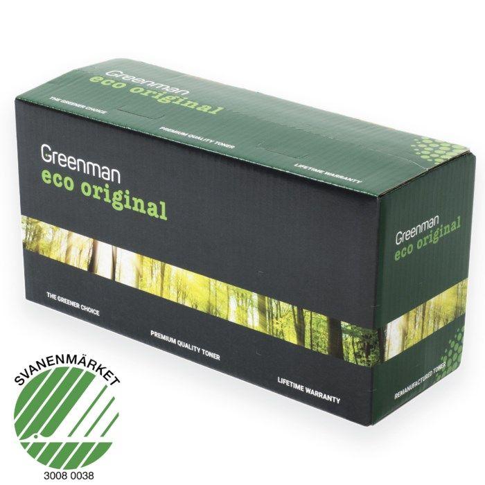 Greenman Toner typ HP 80X Svart