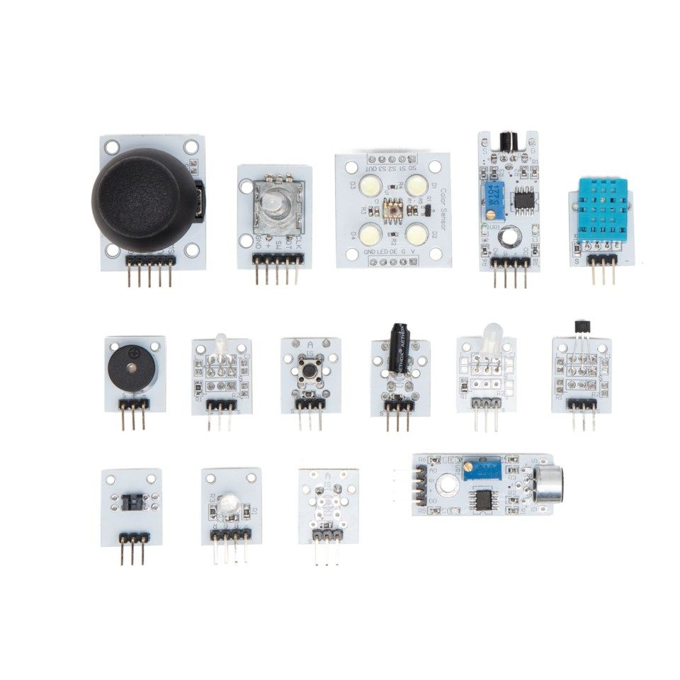 Playknowlogy Liten modulpakke for Arduino