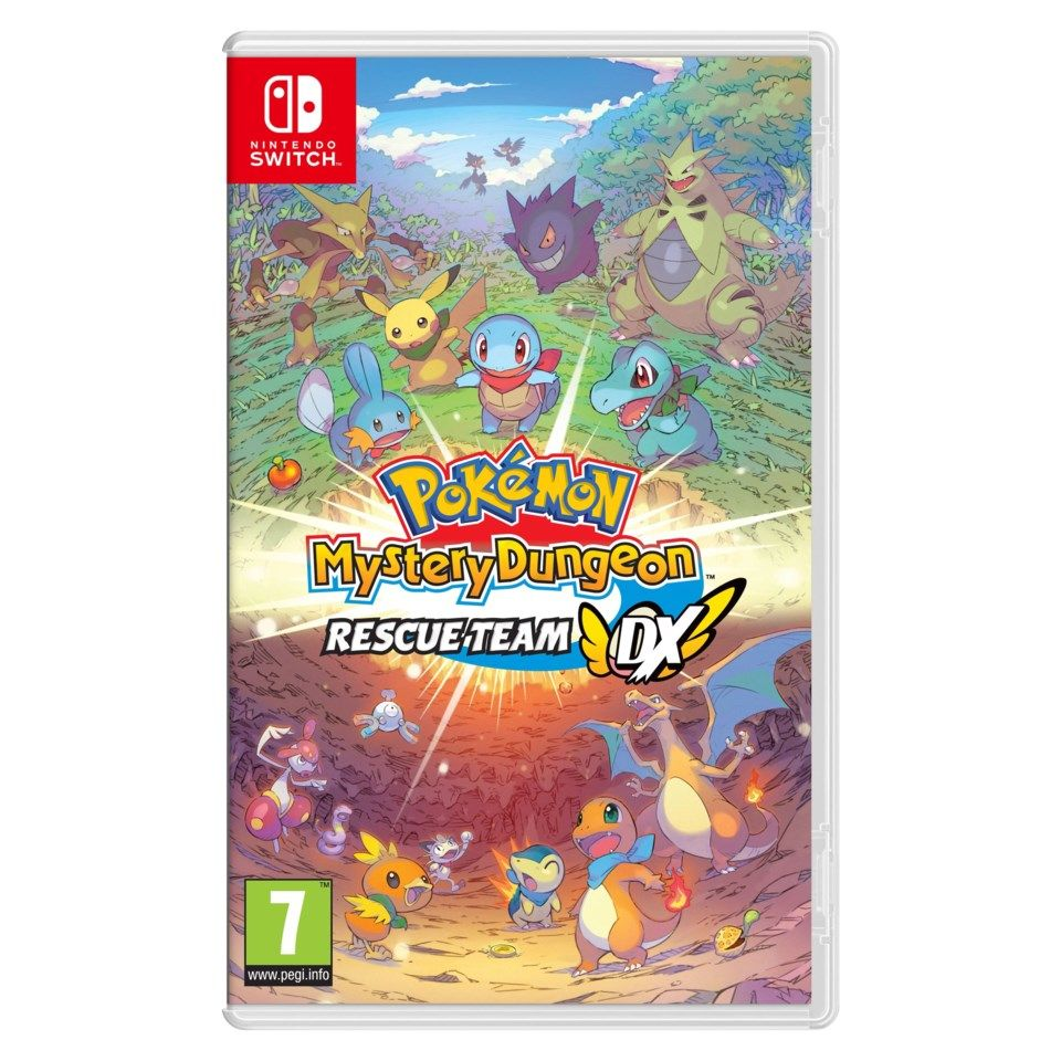 Nintendo Pokémon Mystery Dungeon: Rescue Team DX til Switch