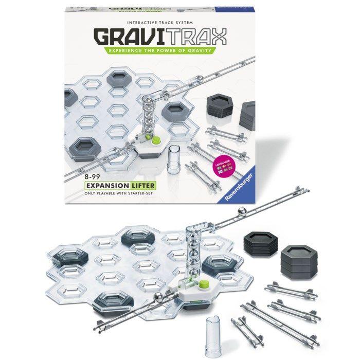 GraviTrax Lifter Expansionspaket till kulbanesystem