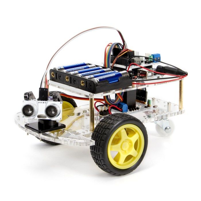 Playknowlogy Arduino Robotbil Startpaket