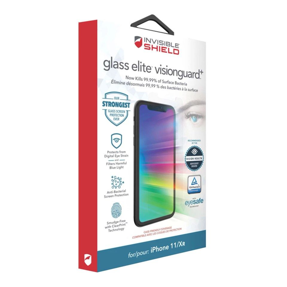 Invisible Shield Glass Elite Visionguard for iPhone 11 og Xr