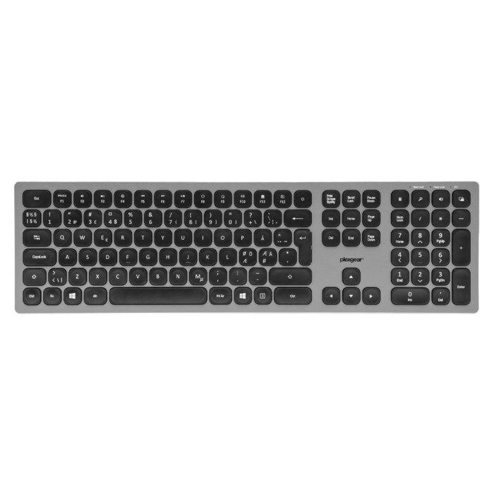 Plexgear KW-800 Office Trådlöst tangentbord